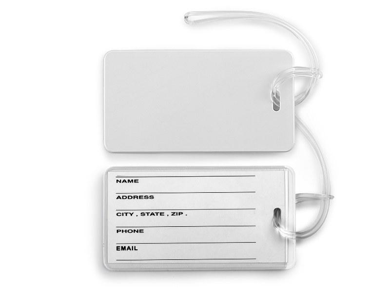 Travel bag ID card tag