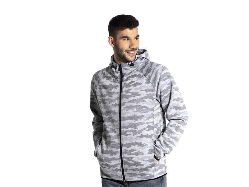 Unisex camouflage hooded sweatshirt
