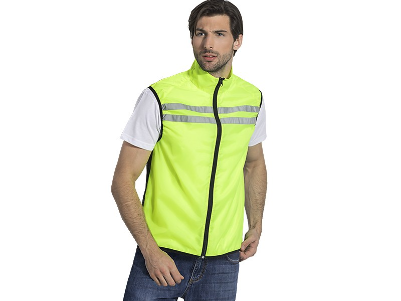 Unisex fluorescent working and sports vest