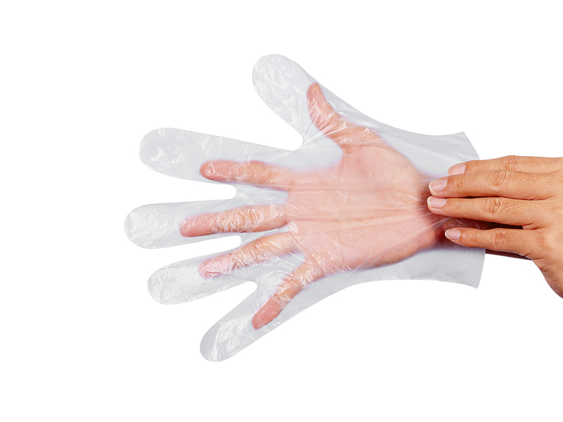 Einweg-PE-Handschuhe