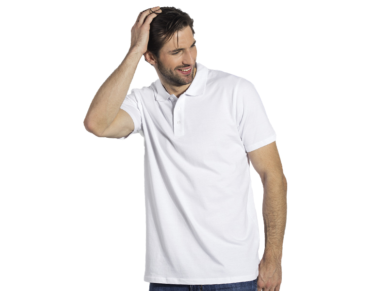 Herren Poloshirt aus Baumwolle, Jersey