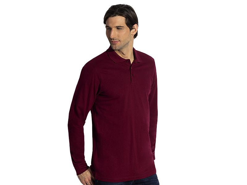 Herren Langarm-Poloshirt