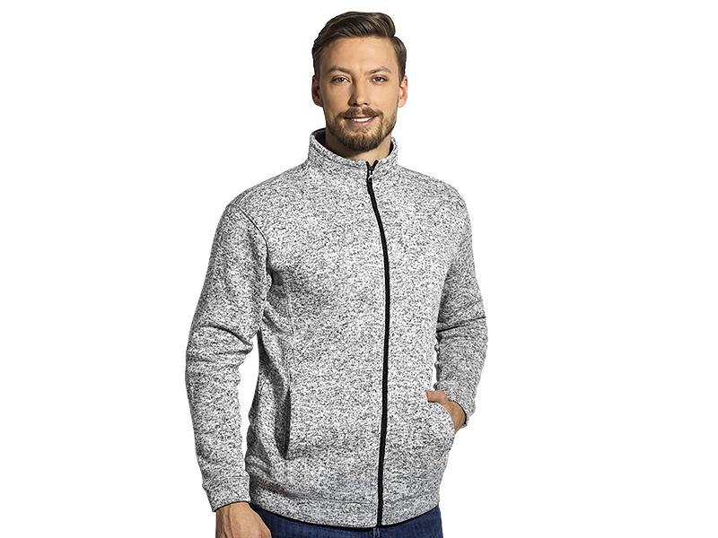 Unisex meliertes Sweatshirt