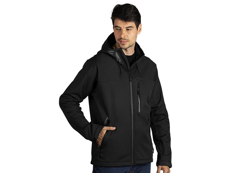 Unisex Softshell-Jacke mit Kaputze