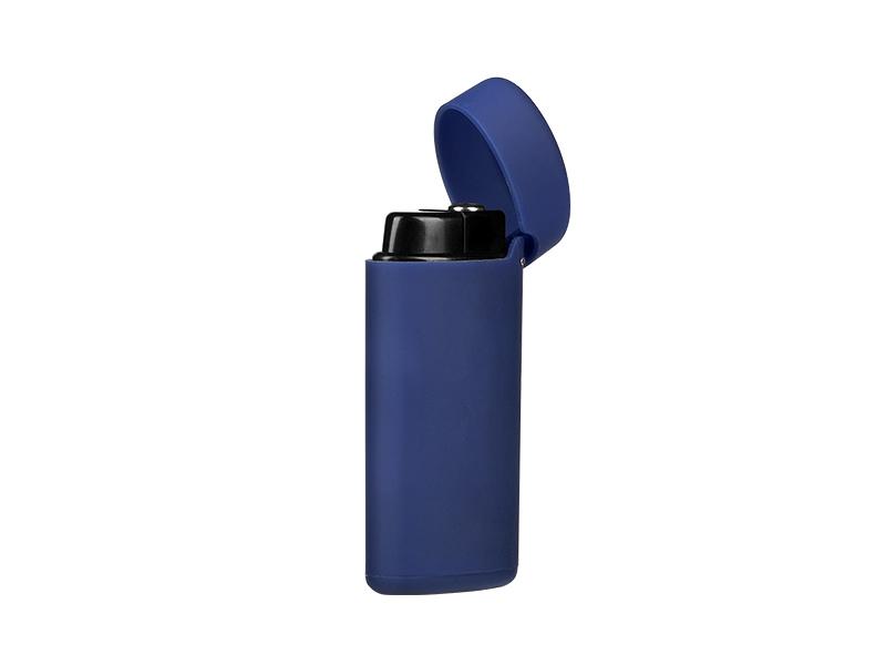 Feuerzeug aus kunststoff Gummiert, Sturmfeuerzeug