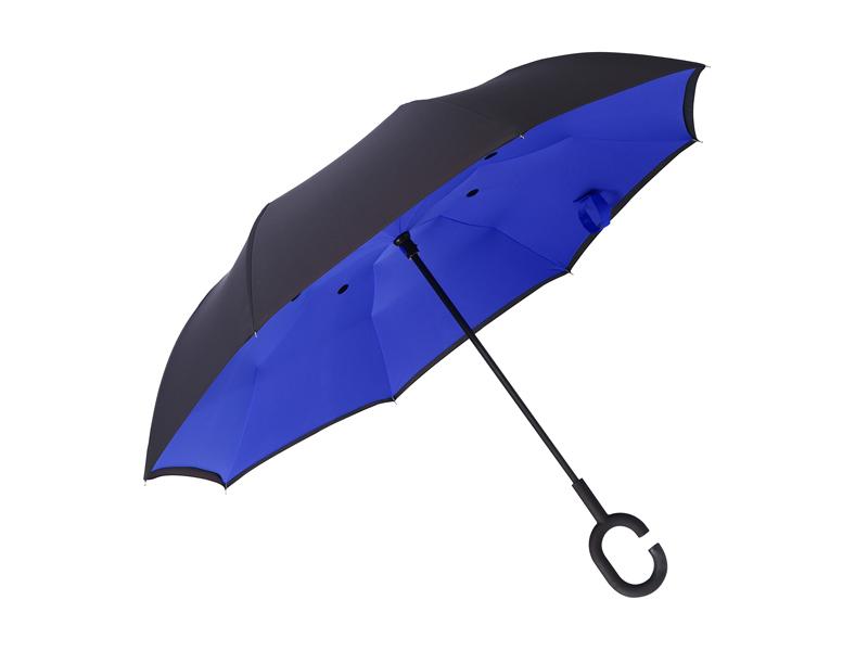 Regenschirm mit Doppelwänden und manueller Öffnung