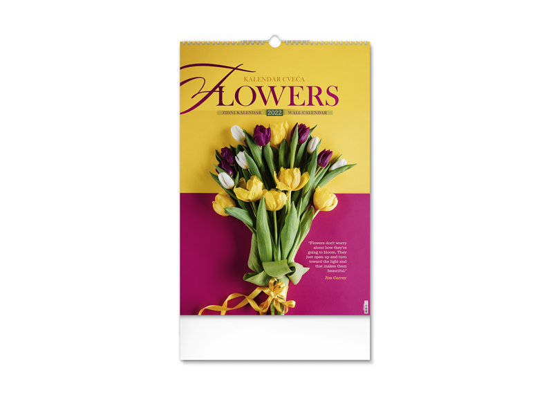 Wandkalender , 7 Seiten, B3-Format