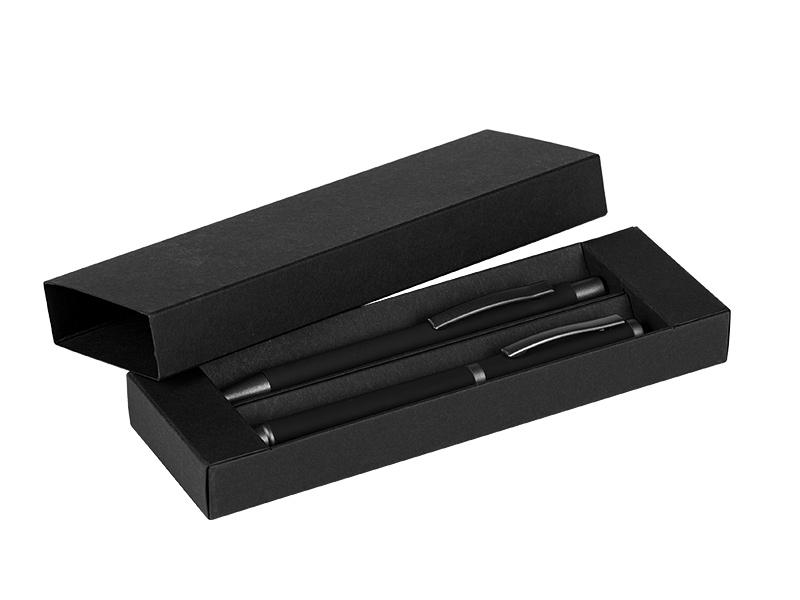 Kugelschreiber und Rollerball aus Metall im Set