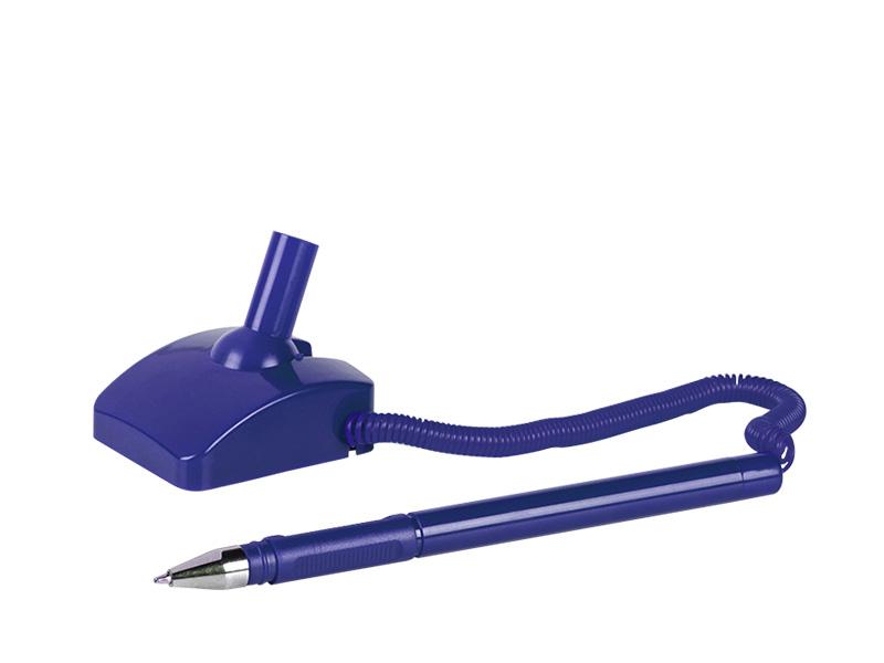 Antibakterieller Kugelschreiber aus Kunststoff mit Standhalterung