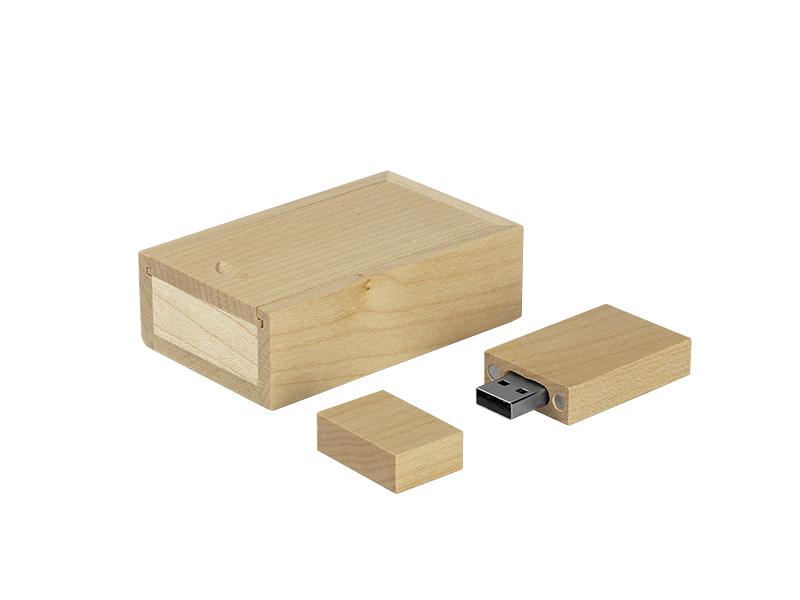 USB-Stick in einer Geschenkbox