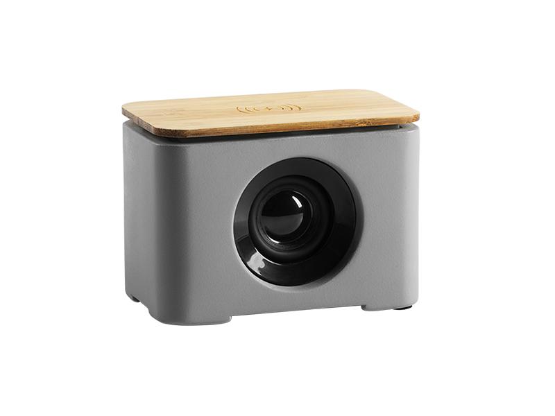 Bluetooth Lautsprecher mit kabellosem Ladegerät